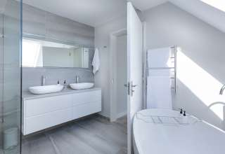 łazienka pod skosami